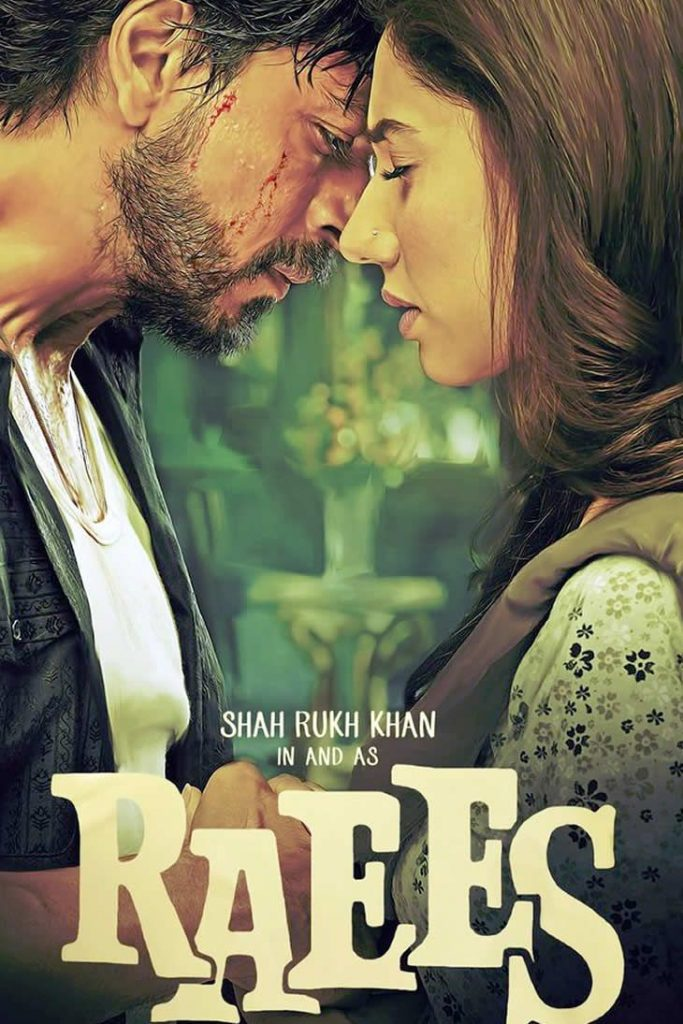 Mahira Khan Features in the New Raees Poster