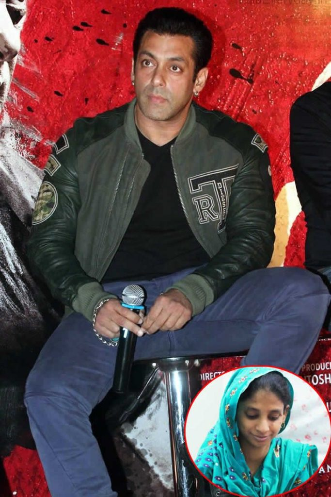 Salman Khan wants Geeta to be given a Good Life in India
