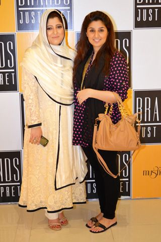 Launch of Musnad Collection at Brands Just Pret,Launch of Musnad