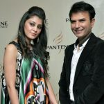 Celebrities shining at Bridal Couture Week
