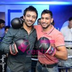 Saad Javed Akram with Boxing Champion Amir Khan