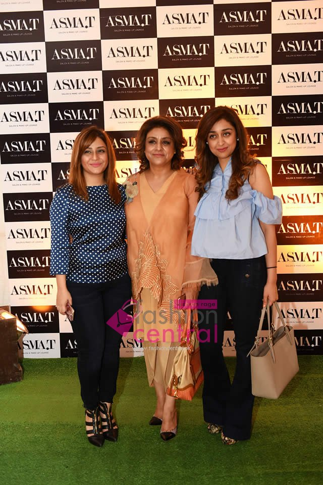 asma t salon laucnhes in dha lahore