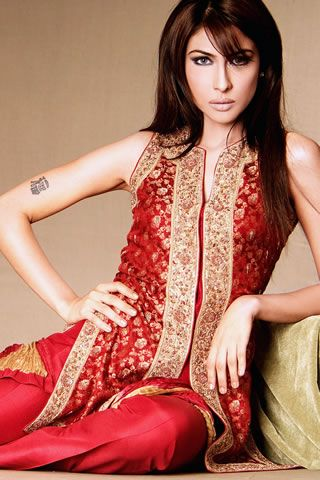 Pakistani Fashion Designer Sara Shahid of Sublime Couture for 2006