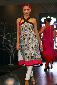 Khaadi Collections at 10 Q Fashion Show by Pakistani Designer