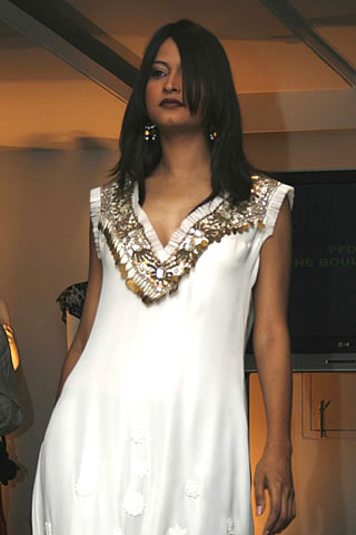 Pakistani Fashion Designers Libas's Collection at Fashion Show 2009
