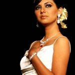 Sunita Marshall modeled for Bushra's Jewelry