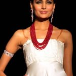 Mehreen Syed modeled for Bushra's Jewelry