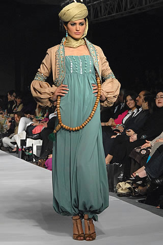 Urban Rajistan Collection by Maria B.'s at PFDC Sunsilk Fashion Week 2010