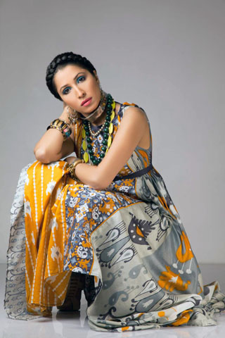 Vaneeza Ahmed Summer Lawn Collection 2011