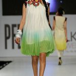 Fouzia Aman at PFDC Sunsilk Fashion Week 2012 Day 3