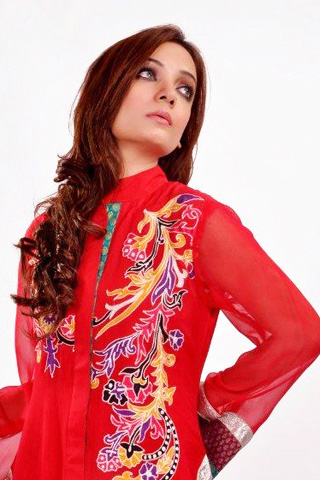Latest Summer Collection 2012 by Zahra Ahmad, Summer Collection 2012
