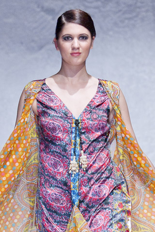 Sadia Designer Lawn at Pakistan Fashion Week London 2012 Day 1