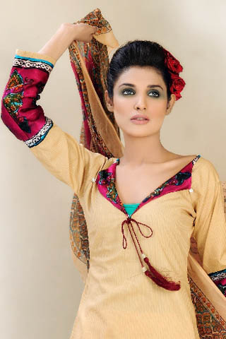 Summer Collection 2012 by Shirin Hassan, Summer Lawn Collection 2012