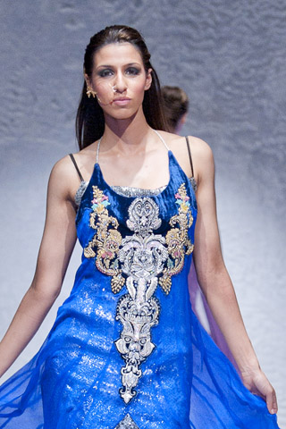 Waseem Noor at Pakistan Fashion Week London 2012