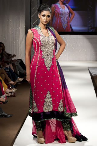 Bridal Collection by Zainab Sajid at Pakistan Fashion Week UK, PFW 2011 UK