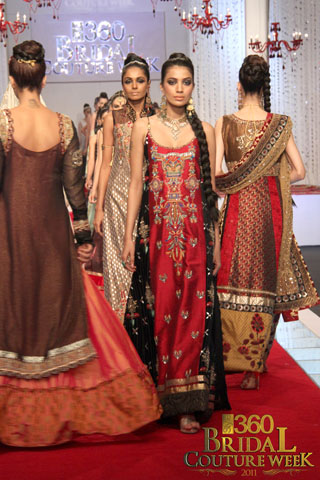 Neelo Allawalla's Collection at Bridal Couture Week 2011, Bridal Collection