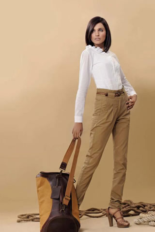Vintage Equestrian Military Chic Collection by Leisure Club