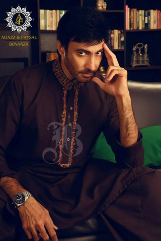 Bonanza Eid Collection 2013 for Men, Bonanza Eid Dresses