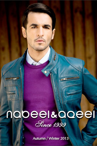 Autumn/Winter 2013 Collection by Nabeel & Aqeel, Winter 2013 Collection