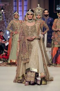 Fahad Hussayn Telenor Bridal Couture Week 2014 Collection