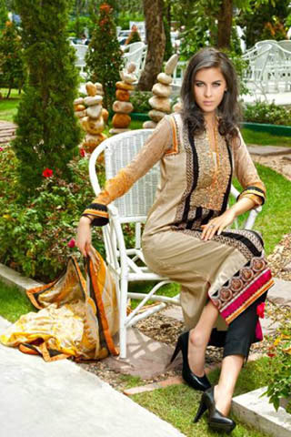 Latest Eid Lawn Collection 2013 by Firdous