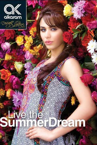 Summer Dream Lawn Collection 2012 by AlKaram