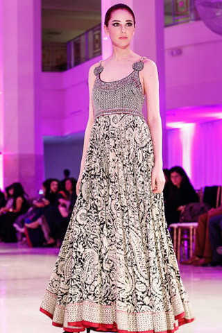 Umar Sayeed at International Bridal Fashion and Jewelry Week 2013