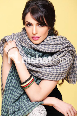 Winter Shawl Collection 2013 by Nishat, Latest Shawl Collection