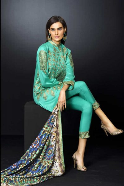 DigiFunk Embroidered Collection by House of Ittehad