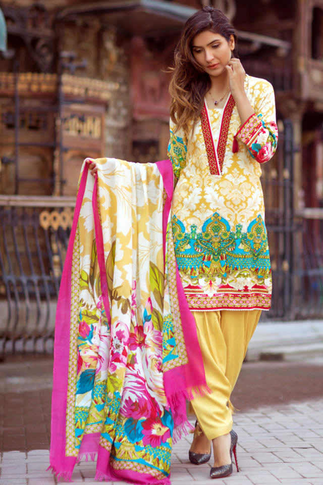 Firdous Winter collection 2017 Pictures