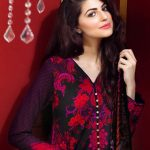 Gul Ahmed Winter Dresses collection 2015 Photos