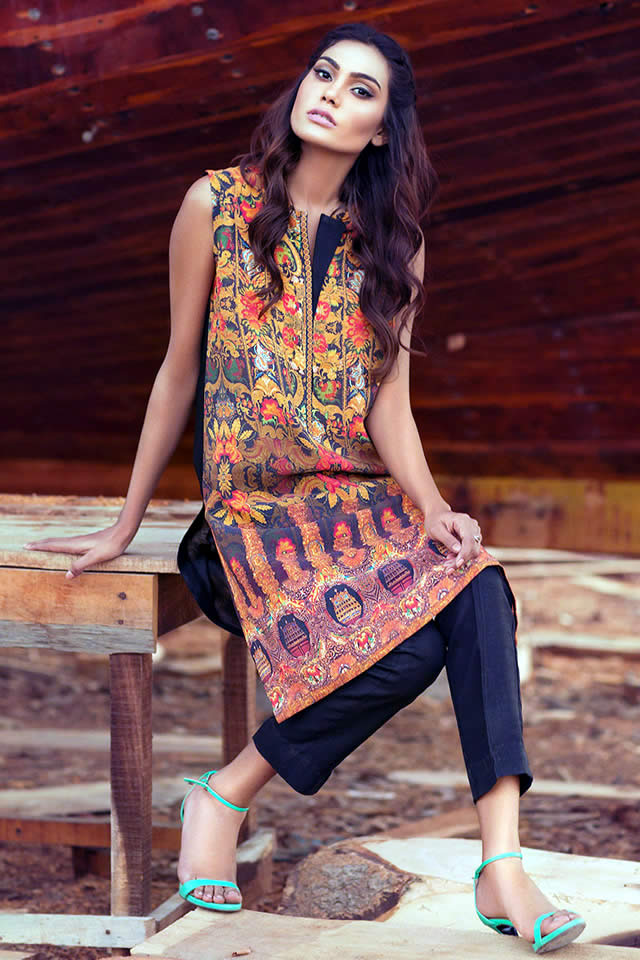 Gul Ahmed spring collection 2016 Photos
