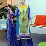 Ittehad Cleopatra Lawn collection 2015 Outfits