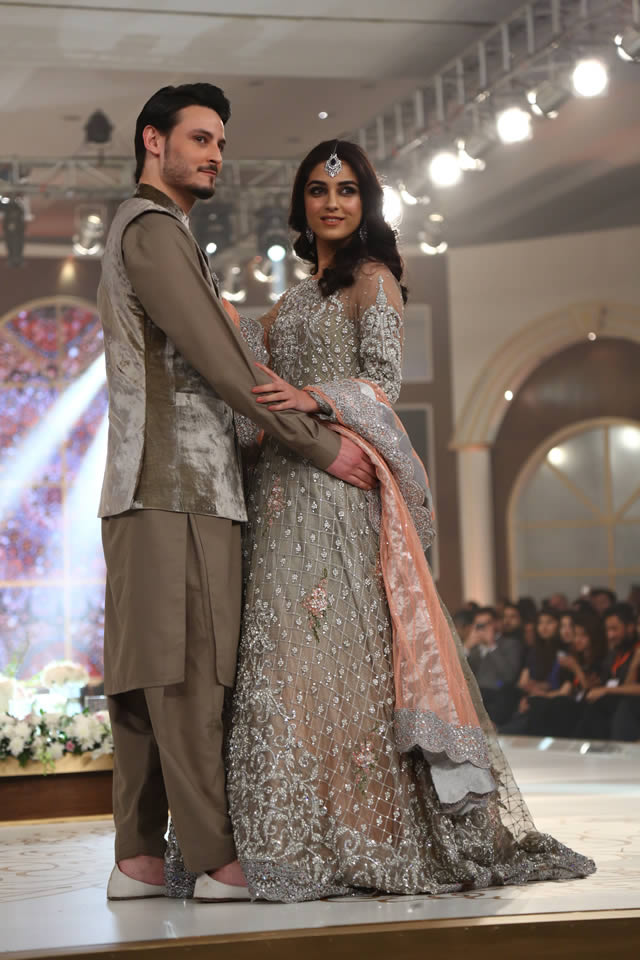 2015 Bridal Couture Week Maria B Latest Collection Images