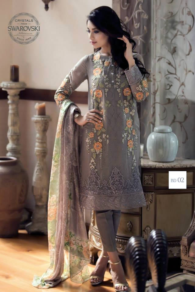 Mbroidered Eid 2015 Maria B Summer Dresses Picture Gallery