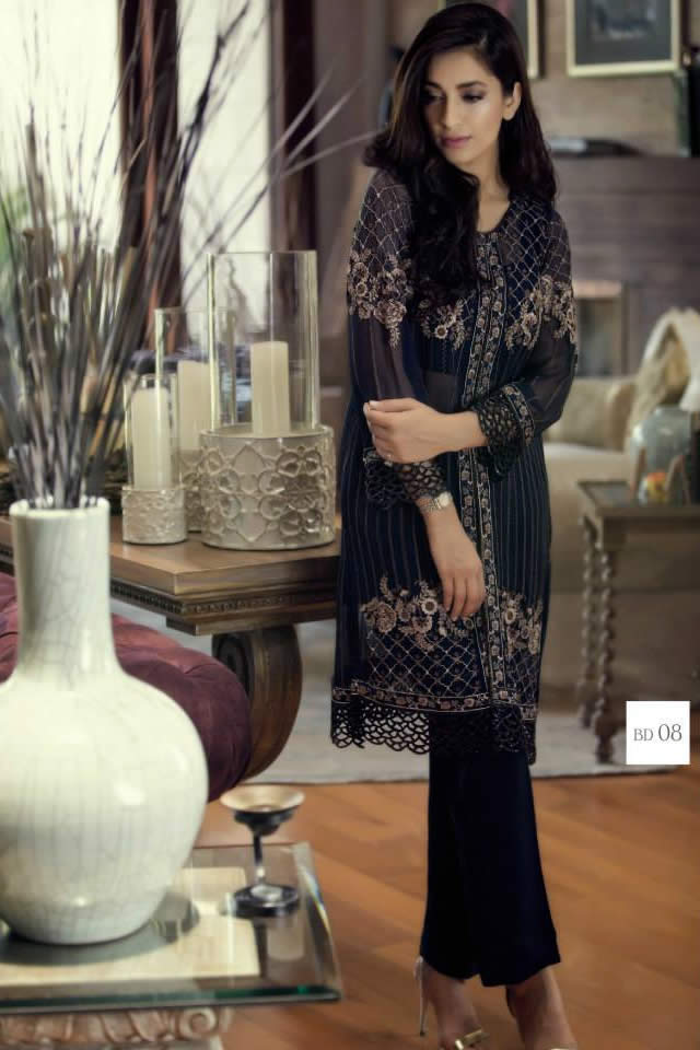 Fashion Designer Maria B Collection Mbroidered Eid 2015 Gallery