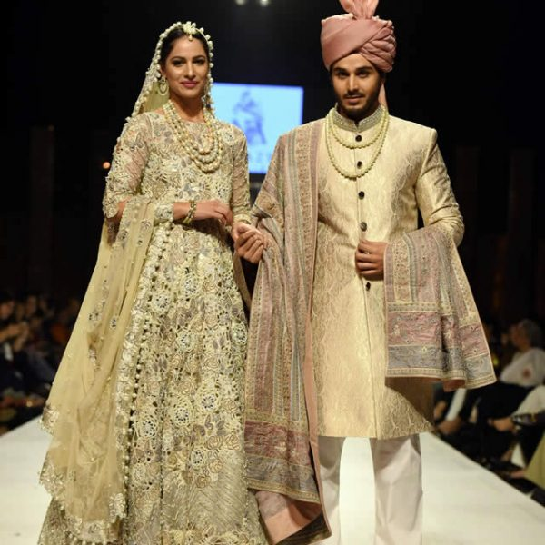 Nida Azwer Bridal Dresses at Fashion Pakistan Week W/F 2015