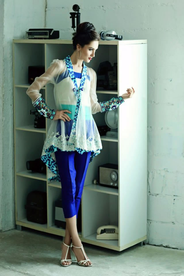 Exclusive 2015 Teena by Hina Butt Dresses Collection