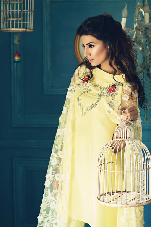 Teena by Hina Butt Eid collection 2015 Images