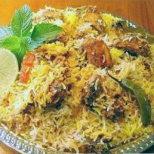 Chicken Sindhi Biryani