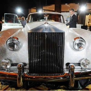 1962 Rolls Royce Silver Cloud Dazzles in a Million Swarovski Crystals