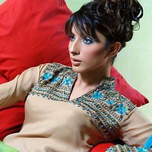 Uzma Khan Pakistani Female Fashion Models