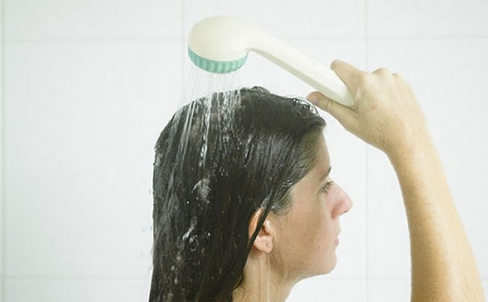 Cold water hair wash