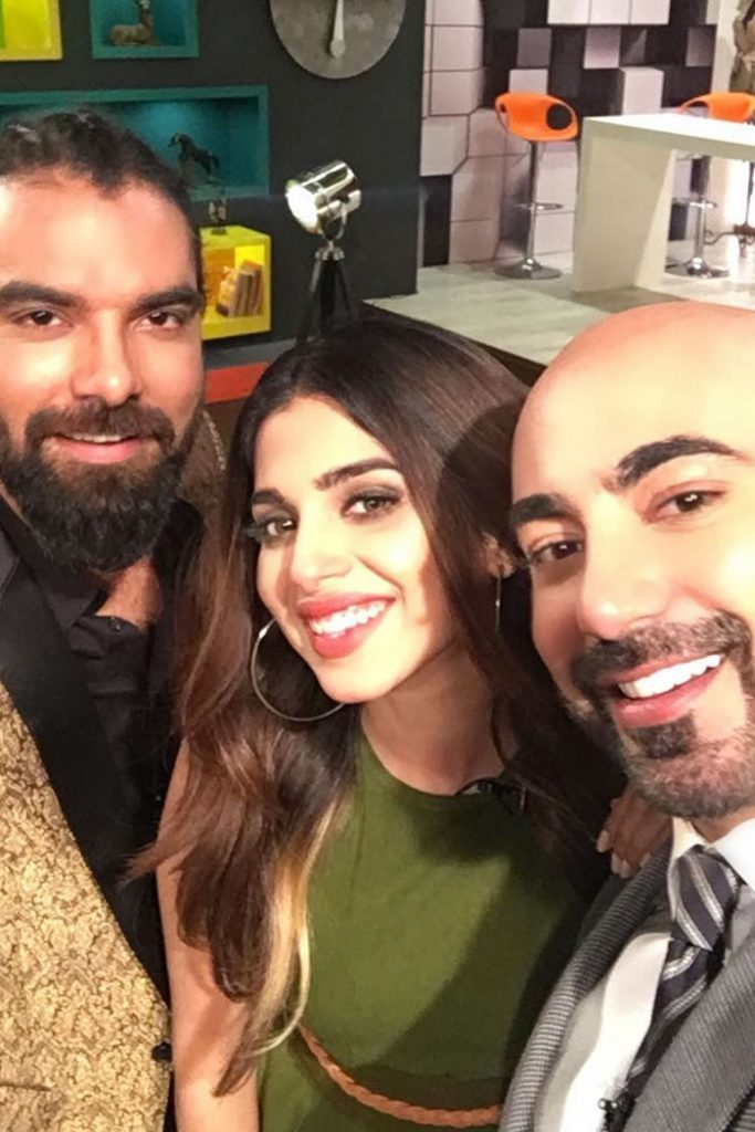 Yasir Hussain and Sonya Hussain Tonite with HSY