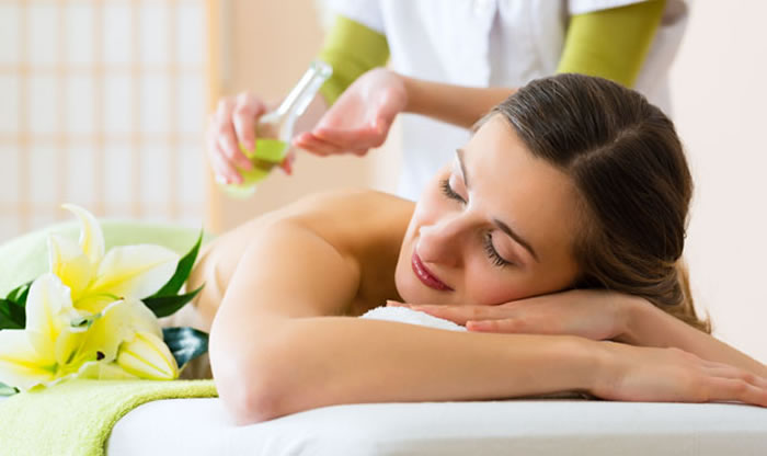 Glowing skin with massage