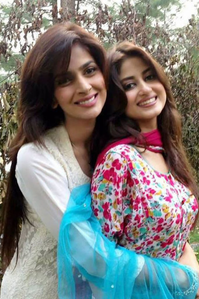 saba qamar and sajal ali