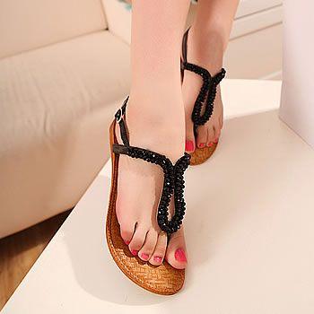 2015 Summer Flat Sandals For Women