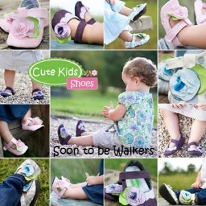 Cute Shoes For Soon-to-Be Walkers