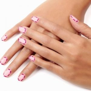 Rose Garden Nails