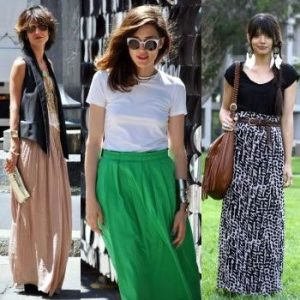 How To Wear A Long, Flowy Skirt